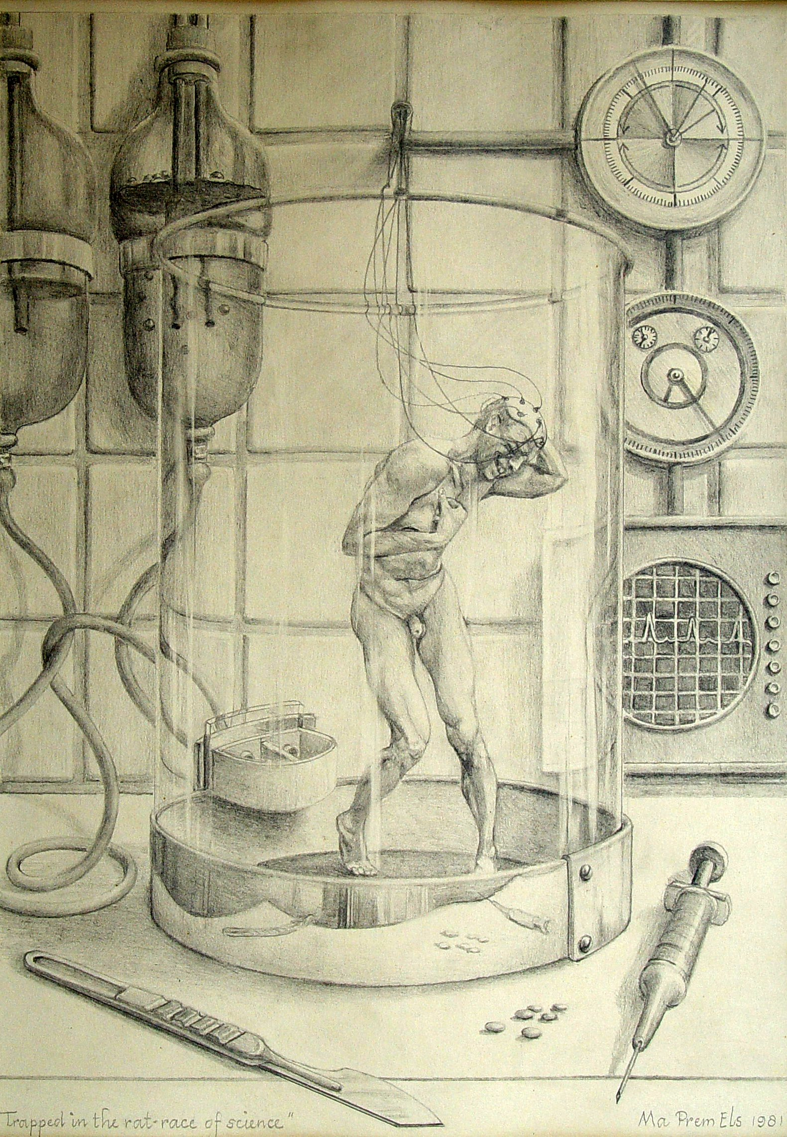 Trapped in the ratrace of science