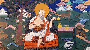 wand met tea monk