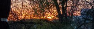 Sonsbeek sunset clipped
