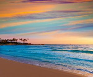 javea-beach-sunset