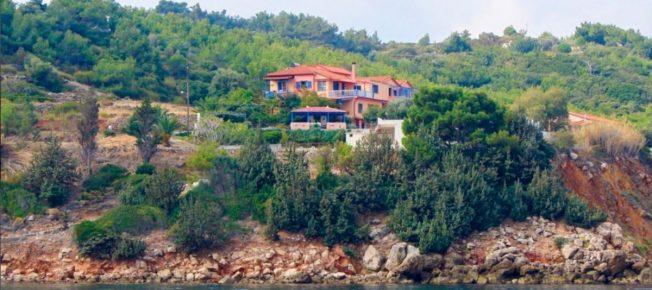 Villa Eva vanuit zee